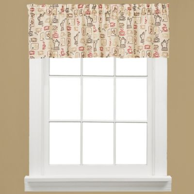 Breaktime Kitchen Window Valance