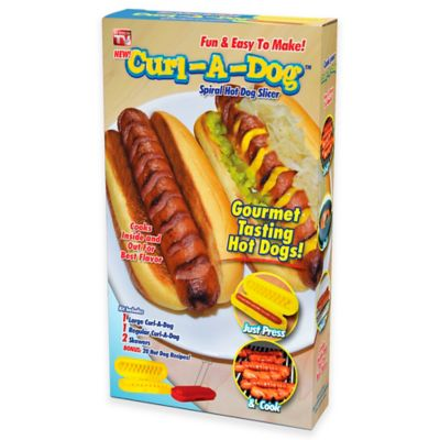 Curl-A-Dog Spiral Hot Dog Slicer