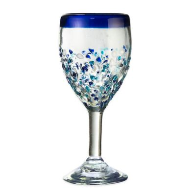 Global Amici Ibiza Goblet in Blue