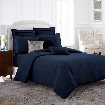 Wamsutta® Davenport Full/Queen Duvet Cover in Blue