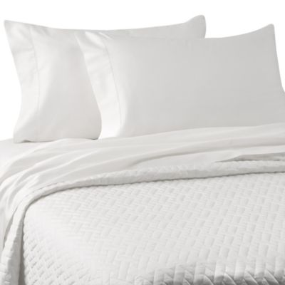 Bellino™ Raso Lightweight Quilted King Coverlet in White
