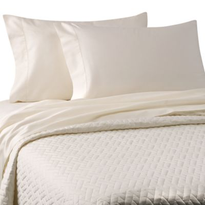 Bellino™ Raso Lightweight Quilted Queen Coverlet in White