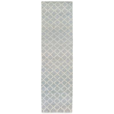 Tommy Bahama® Maddox Trellis 2-Foot 6-Inch x 10-Inch Runner in Grey