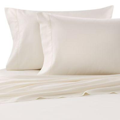Bellino™ Raso Egyptian Cotton Queen Flat Sheet in Ivory
