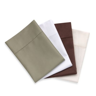 Bellino™ Raso Queen Flat Sheet in Chocolate