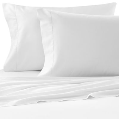 Bellino™ Raso Egyptian Cotton King Fitted Sheet in White