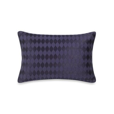 Wamsutta® Davenport Oblong Throw Pillow in Blue