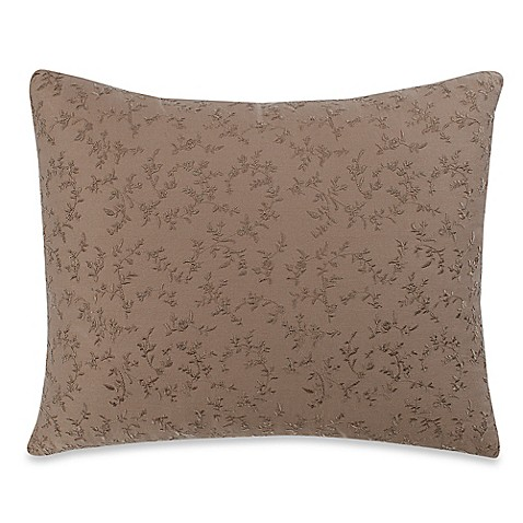 Wamsutta 174 Vintage Washed Embroidered Oblong Throw Pillow