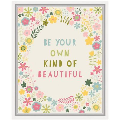 Floral Quote II Wall Art