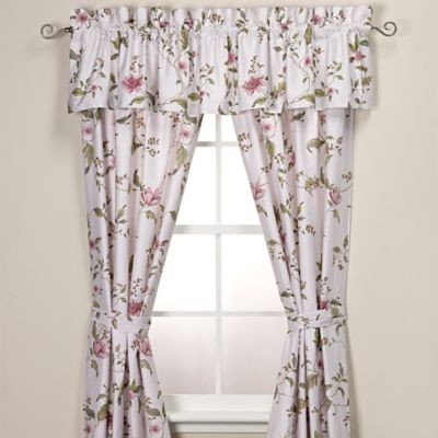 Plum Window Valances