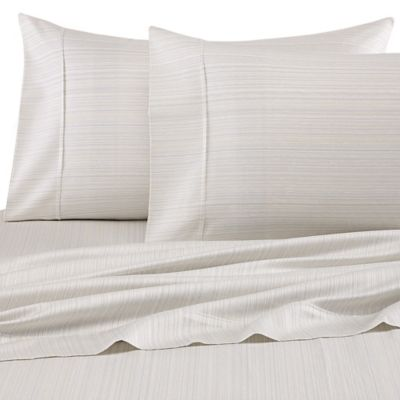 Barbara Barry® Subtle Strie King Pillowcases in Prism (Set of 2)