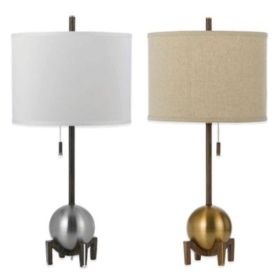 Linen Lamp Shades Table Lamps