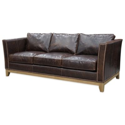 Beekman 1802 Dr. Gardner Sofa in Brown