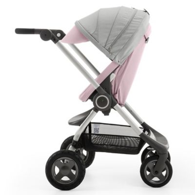 Stokke® Scoot™ II Stroller in Soft Pink
