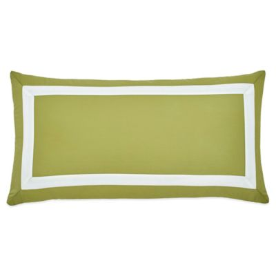 Jill Rosenwald Arrows Oblong Throw Pillow in Olive