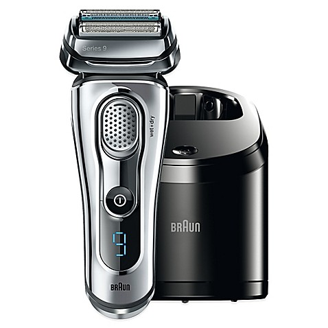 Braun Series 9 9095cc Wet Amp Dry Electric Shaver Bed Bath