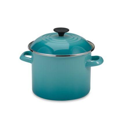 Le Creuset® 6 qt. Stock Pot in Caribbean