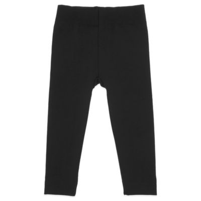 Black Fleece-Lined Legging