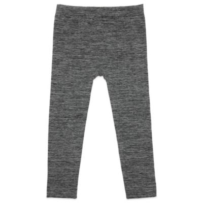Capelli® New York Size 6-12M Marled Fleece-Lined Seamless Leggings in Grey