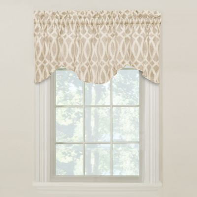 Abel M-Shaped Lined Valance in Citron