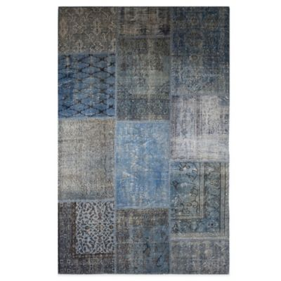 Beekman 1802 Kindfolk Patchwork 9-Foot x 12-Rug in Indigo
