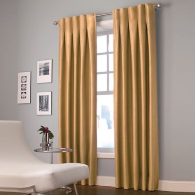 Silver Green Curtain Panel