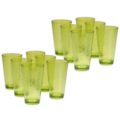 Acrylic Ice Tea Glasses