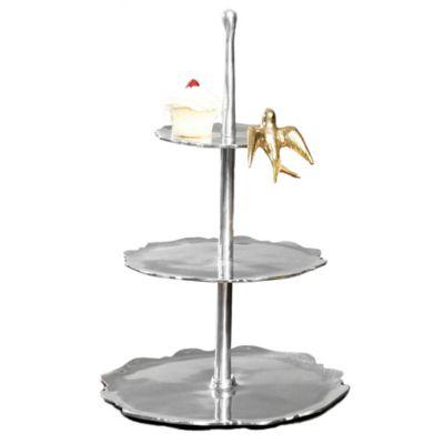 Lunares Dove 3-Tier Dessert Stand