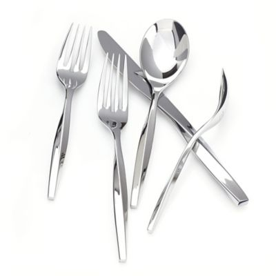 Nambe Twist 5-Piece Flatware Place Setting