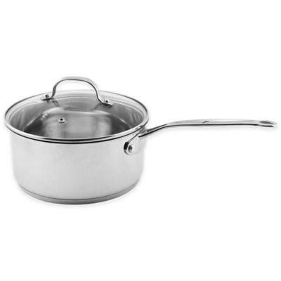 BergHOFF® Premium 1.5 qt. Glass Covered Saucepan