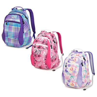High Sierra® Curve 18.5-Inch Backpack in Wonderland/Spinkle Dots