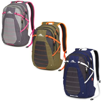 High Sierra® Fallout 21-Inch Backpack in Mercury/Charcoal/Fuchsia