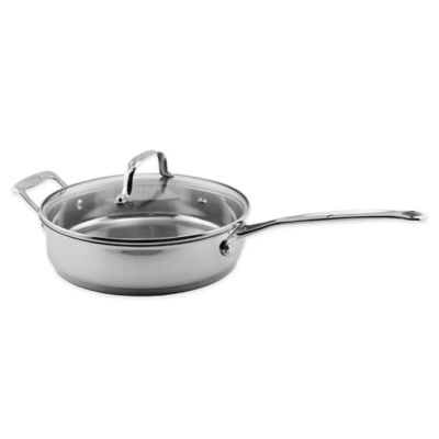 BergHOFF® Premium Glass Covered Deep Skillet