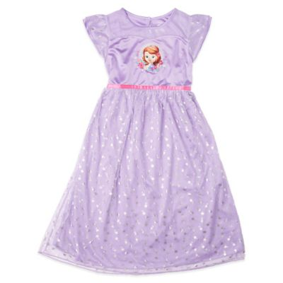Disney® Sofia the First Size 2T Gown in Purple
