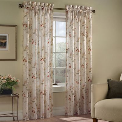 Chantelle 63-Inch Window Curtain Panel