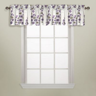 Chelsea Cotton Valance in Blue