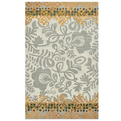 Sumatra 7-Foot 6-Inch x 9-Foot 6-Inch Area Rug in Ivory & Taupe