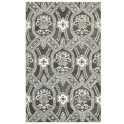 Black/Ivory Area Rugs