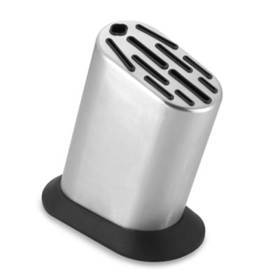 Global Stainless Steel 11-Slot Knife Holder