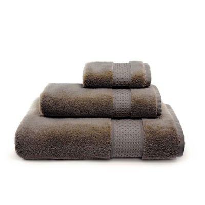 Villa Di Borghese Palermo Bath Towels in Brown (Set of 3)