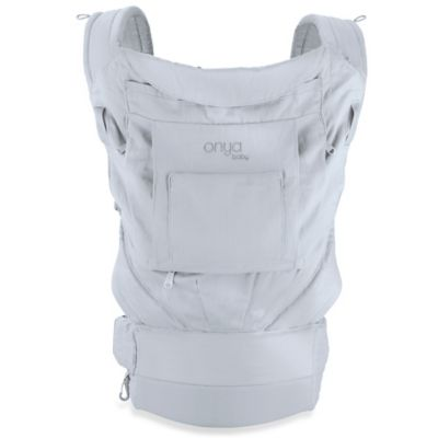 Onya Baby Cruiser Baby Carrier in Pearl Grey