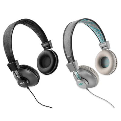 House of Marley Positive Vibration On-Ear Headphones in Mist