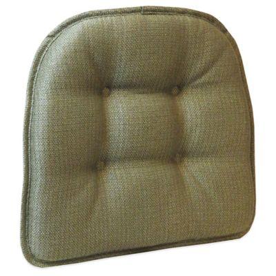 Klear Vu Tufted Omega Gripper® Chair Pad in Sage