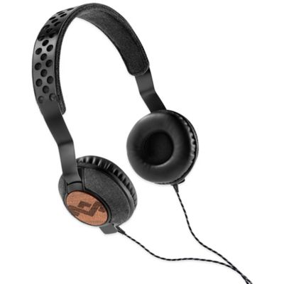 House of Marley Liberate On-Ear Headphones in Midnight