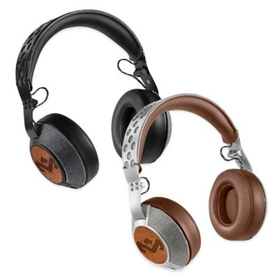 House of Marley Liberate XL Over-Ear Headphones in Saddle
