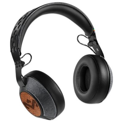 House of Marley Liberate XL Over-Ear Headphones in Midnight