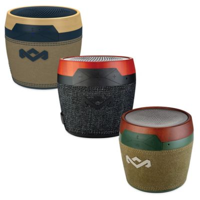 House of Marley Chant Mini Portable Bluetooth® Speaker in Black