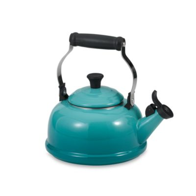 Le Creuset® 1.7-Quart Whistling Tea Kettle in Caribbean Blue