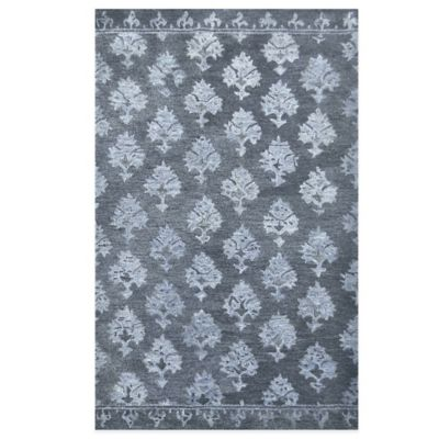 Marble 8-Foot x 11-Foot Area Rug in Indigo Ink