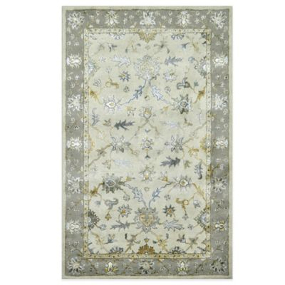 Loft 5-Foot x 8-Foot Area Rug in Ivory/Taupe